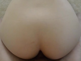 Busty chick cummed in her delicious pussy