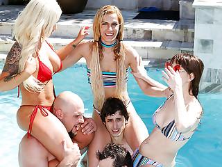 Spring Break Beach House Party