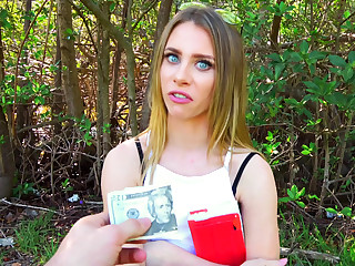 Public Pickups – Blonde Rides Dick In Public Park