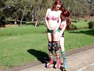 Peggie & Harley - Rollergirls pt1
