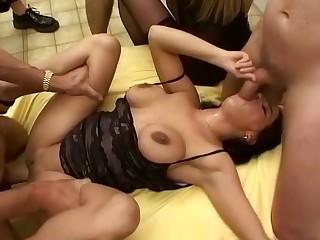 extreme german amteur bukkake orgy