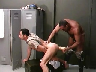 Cum Drenched Gay Bear Ass