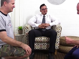 Javy Gets Worshiped In A Suit - Javy