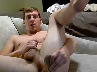 Wyatt Takes A Big Dildo - Wyatt Blaze