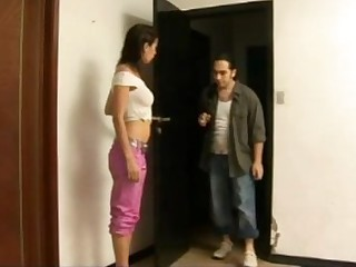 Busty latina gets clothes ripped for violent sex