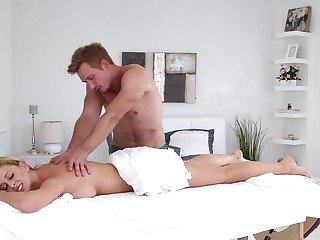 Milf Cherie Deville Gets The Massage Of Her Life