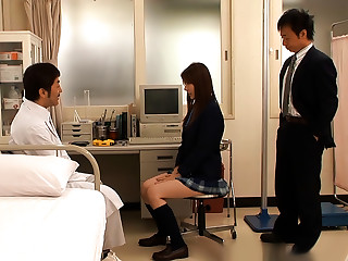 Yui Tatsumi Sassy Asian Schoolgirl In Hot Threesome Action