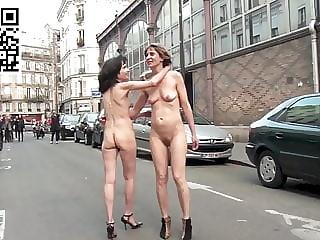 Sarah Cassenti and Helene Defilippi naked in paris