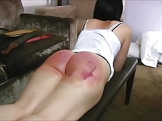 A good HARD Strapping!