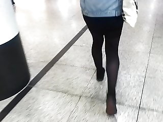 Stocking Legs in The Arndale Centre.