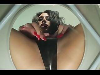 POV of a toilet slave