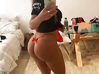 Argentine blonde with big ass