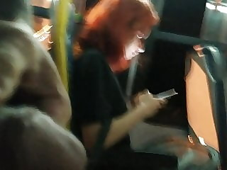 Masturbation in bus 53