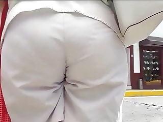 Ass eating long shorts vpl