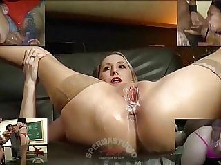 Cum Cum & Creampie Compilation 4 - Sperma-Studio